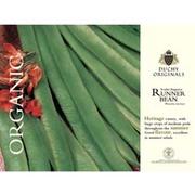 Runner Bean 'Scarlet Emperor' - Duchy Originals Organic Seeds - 1 packet (30 runner bean seeds)