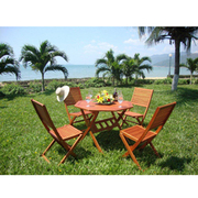4 Seater Wooden Dining Set - 1 x 4 seater dining set