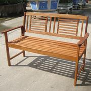 2 Seater Wooden Bench - 1 x 2 seater bench