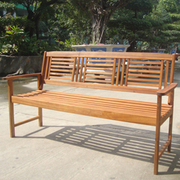 3 Seater Wooden Bench - 1 x 3 seater bench