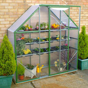 Ultimate Spacesaver Greenhouse Green (2ftx6ft) - 1 x Greenhouse 2ft x 6ft (Green)