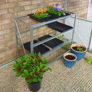 Norfolk Greenhouses Standard Staging - 1 x 12 Tray Standard Staging
