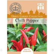 Chilli Pepper 'Krakatoa' F1 Hybrid (Hot) - 1 packet (6 chilli pepper seeds)