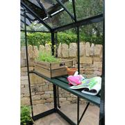 Eden Birdlip Greenhouse Staging - 4ft Greenhouse Staging (Black)