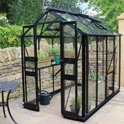 Eden Birdlip 48 Greenhouse - 1 x Greenhouse in Black (6mm polycarbonate glass)