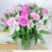 Pink Beauty Bouquet - Gift - 25 stem bouquet