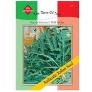 Wild Rocket (Rucola Selvatica) - Vita Sementi® Italian Seeds - 1 packet (2000 wild rocket seeds)