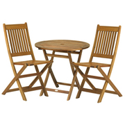 York Bistro Set with Manhattan Chairs - 1 bistro set