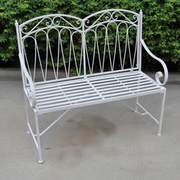 Romance 2 Seater Bench - 1 x 2 seater bench (antique white )