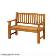 Turnbury 2 Seater Bench - 1 x 2 seater bench