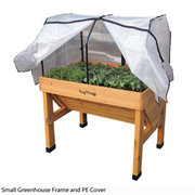 VegTrug™ Greenhouse Frame & PE Cover - 1 small greenhouse frame with cover