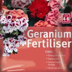 Geranium Fertiliser