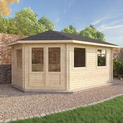 5 x 3 LS Lodge Grande 44mm Double Glazed