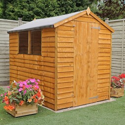 7 x 5 Waltons Overlap Apex Wooden Shed
