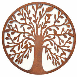 54cm Tree of Life Wall Art Ornament for Garden Or Home Decoration