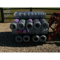 Stock Fence L10/120/15 ideal for dog proofing sheep pigs farm garden - 1.2m Tall - 25m long