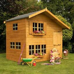 8X6 Waltons Honeypot Bramble Wooden Playhouse
