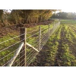 25m roll of C8/80/15 Stock Fencing ideal for dog proofing your garden as well as for Farms/Cattle/Sheep/Pigs