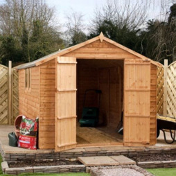 8 X 8 Waltons Overlap Shed