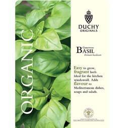 Basil 'Classico' - Duchy Originals Organic Seeds