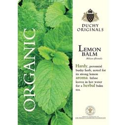 Lemon Balm - Duchy Originals Organic Seeds