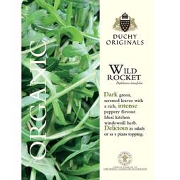 Wild Rocket - Duchy Originals Organic Seeds