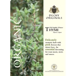 Thyme 'Old English' - Duchy Originals Organic Seeds