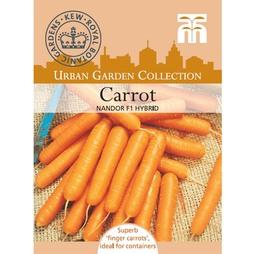 Carrot 'Nandor' F1 Hybrid - Kew Collection Seeds