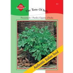 Parsley 'Prezzemolo Gigante d'Italia' -Vita Sementi® Italian Seeds