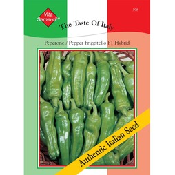 Sweet Pepper 'Friggitello' F1 Hybrid - Vita Sementi® Italian Seeds