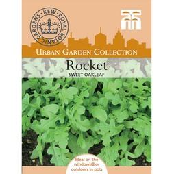 Rocket 'Sweet Oakleaf' - Kew Collection Seeds