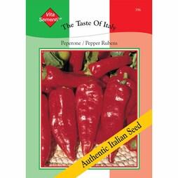 Sweet Pepper 'Rubens' - Vita Sementi® Italian Seeds