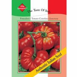 Tomato 'Costoluto Genovese' - Vita Sementi® Italian Seeds