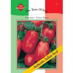 Tomato 'Roma Nano' - Vita Sementi® Italian Seeds