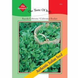 Cultivated Rocket - Vita Sementi® Italian Seeds