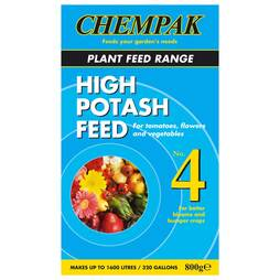 Chempak® High Potash Feed - Formula 4