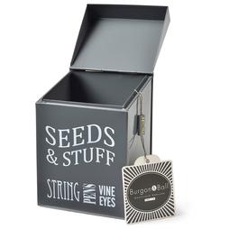 Burgon & Ball Seeds and Stuff Tin
