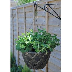 Lattice Hanging Basket with Hanger