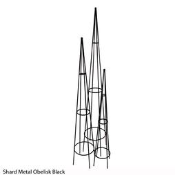 Shard Metal Obelisk (Black)