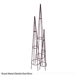 Shard Metal Obelisk (Red Wine)