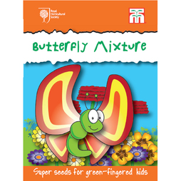 Butterfly Mix - RHS endorsed seeds for children