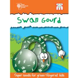 Swan Gourd - RHS endorsed seeds for children