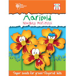 Marigold 'Naughty Marietta' - RHS endorsed seeds for children