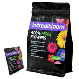 incredibloom® Fertiliser - up to 4 times more flowers
