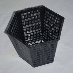 Hexagonal Aquatic Planting Basket 18 x 16cm / 3 litre