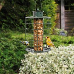 Medium Seed & Nut Bird Feeder Pack Of Two