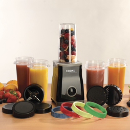 Cooks Professional Multi Blender Cup Set 3 Cup Set Black