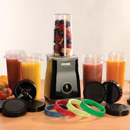 Cooks Professional Multi Blender Cup Set 5 Cup Set Black