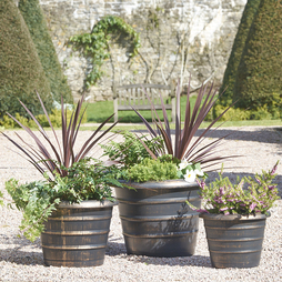 Pack of 3 planters