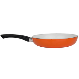 Cooks Professional 3 Piece Ceramic Frying Pan Set Orange